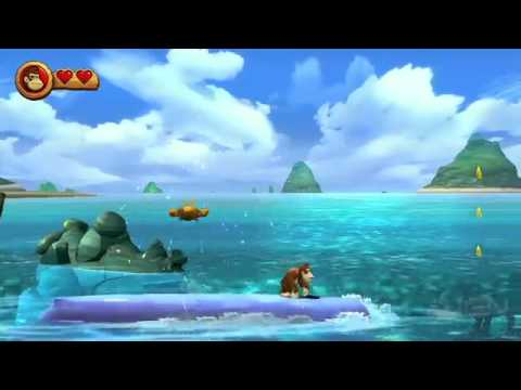 Donkey Kong Country Returns - 2-6 Blowhole Bound
