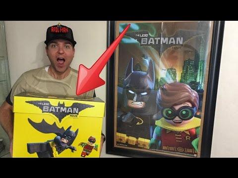Unboxing The Lego Batman Movie Sets! 📦