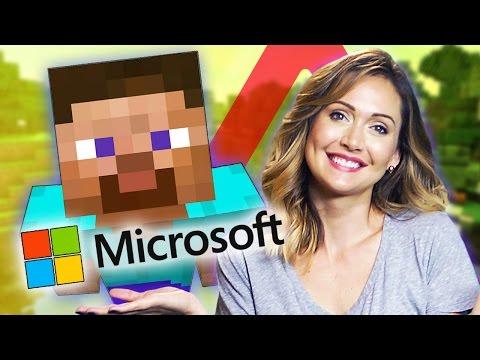 Will MICROSOFT Ruin MINECRAFT?! (Nerdist News w/ Jessica Chobot)