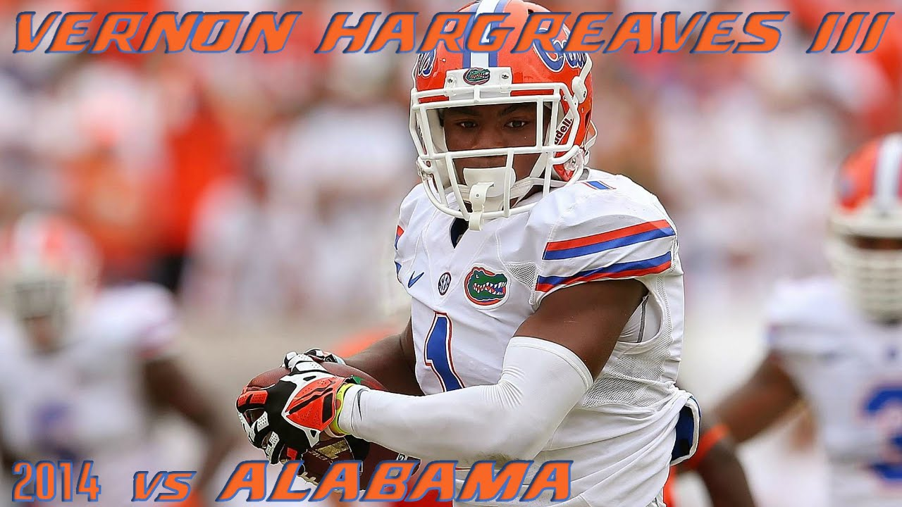 Vernon Hargreaves III vs Alabama (2014)