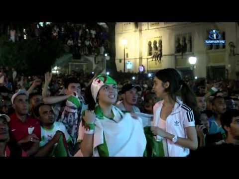 Algerie vs Russie  Superbe celebration a alger  HD