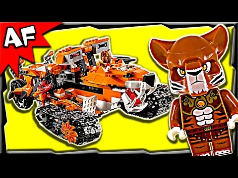 Lego Chima TIGER's MOBILE Command 70224 Stop Motion Build Review