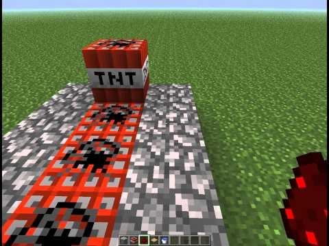Как создать самую простую пушку в Minecraft (Tutorial)
