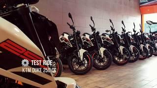 Test Ride - KTM DUKE 250 cc