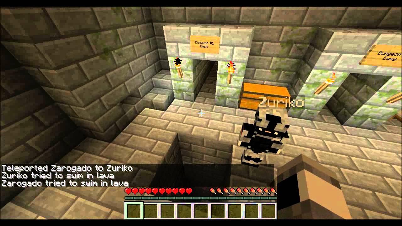 minecraft adventure maps dungeon runner