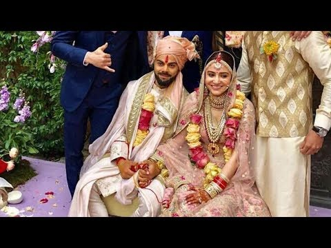 Leaked Video: Virat Kohli And Anushka Sharma Gets Married In Bollywood Style