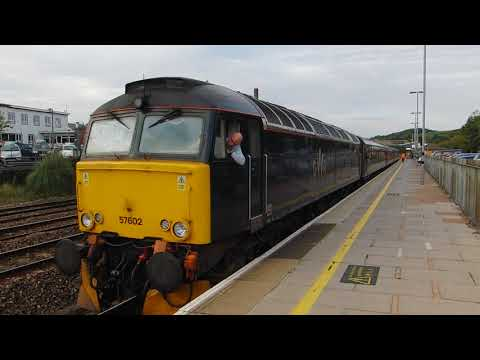 GWR class 57 Exeter-Penzance saturday service @ Totnes
