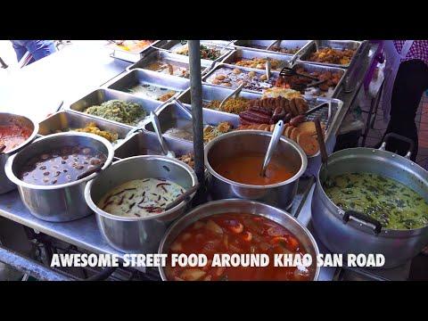 Awesome Street Food around Khao San Road, Bangkok