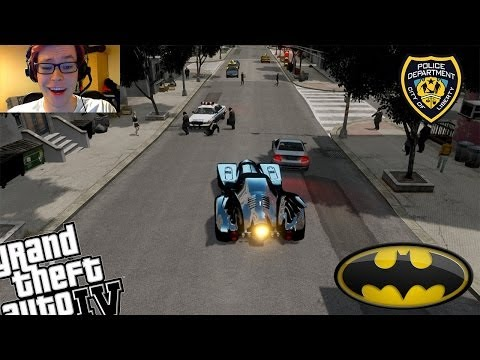 GTA IV + Webcam LCPDFR Batman Mod Police Patrol - Day 7 - Thank You For 60,000 Subscribers!