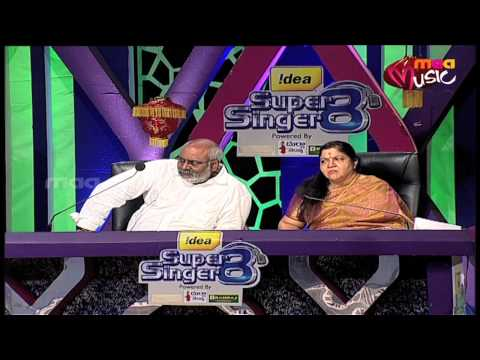 Super Singer 8 Episode 30 - Sirisha and Rithesh Performance