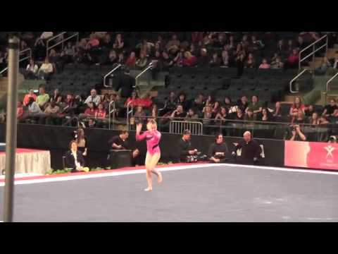 Sydney McGlone-Level 10 UGI Gymnast, 2012 Nastia Cup-Floor Routine