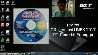 Review CD Simulasi UNBK 2017 Erlangga | Bagus Bangat
