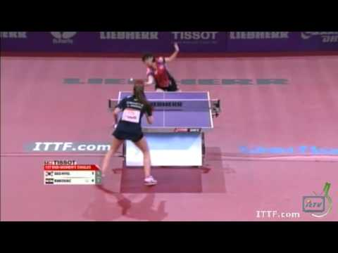 2013 World Table Tennis Championships: Lea Rakovic vs Seo Hyo Won