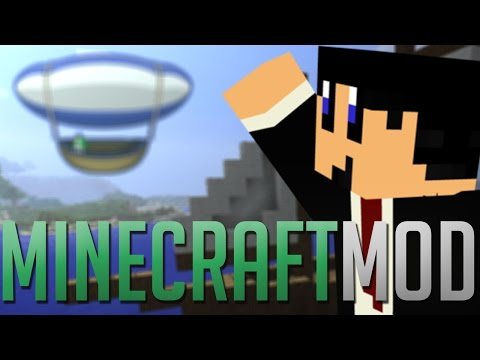 Archimedes SHIPS Mod?! Minecraft Mod Review!
