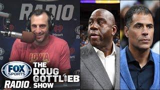 NBA - Magic Johnson & Rob Pelinka Show Us How Dysfunctional the Lakers Are
