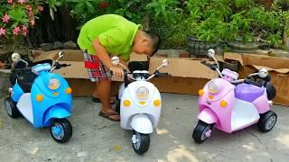 Trò Chơi Bán Xe Máy Vespa ❤ ChiChi ToysReview TV ❤ Đồ Chơi Trẻ Em Baby Car