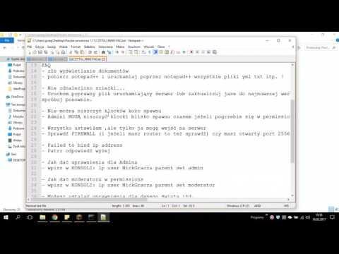 Pliki serwerowe 1.11 Bukkit spigot Minecraft Download