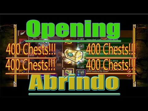 Abrindo (open) 400!!!Chests Clicks Fasts