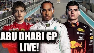 2019 Abu Dhabi Grand Prix Race Watchalong