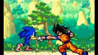 Goku vs Sonic ¿Necesita Goku la ayuda de Vegeta?