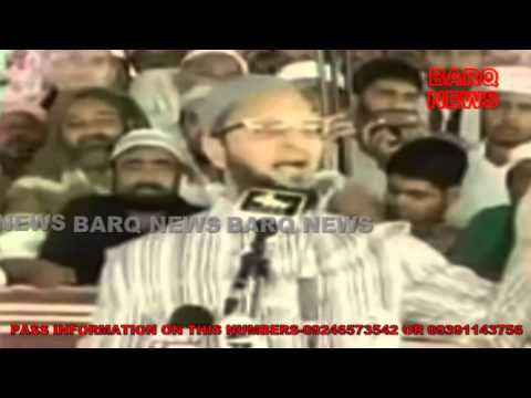 BARQ NEWS..JUMMA -TUL- VIDA PRAYERS IN HISTORICAL MECCA MASJID OF HYDERABAD AND AIMIM SUPREMO SPEECH