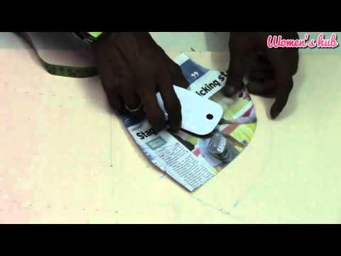 Single Katori Blouse - 2. Marking and Cutting the Cloth