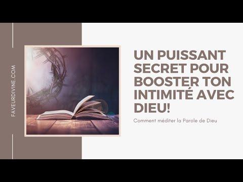 Comment méditer la Parole de Dieu : un secret qui va révolutionner ton intimité avec Dieu