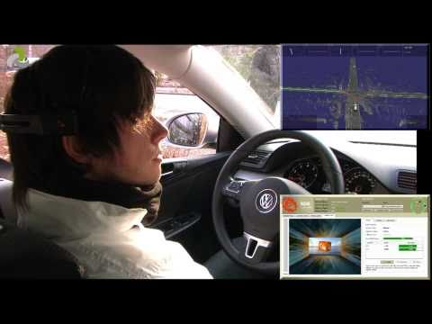 BrainDriver - a mind controlled car