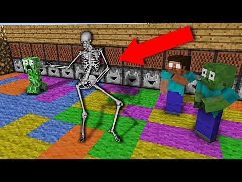 Monster School : Dancing Competition - Minecraft Animation