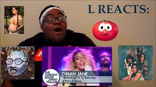 ALL AGAIN, MONIES, SWING AND DINAH ON JIMMY FALLON | REACTION