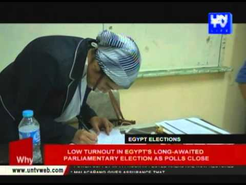 Low turnout in Egypt's long-awaited parliamentary election as polls close