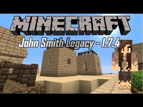 John Smith Legacy - Minecraft Texture Pack Review - 1.7.4