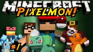Minecraft: Pixelmon Episode 1!