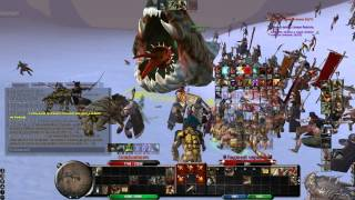 Age Of Conan - World boss kill - May