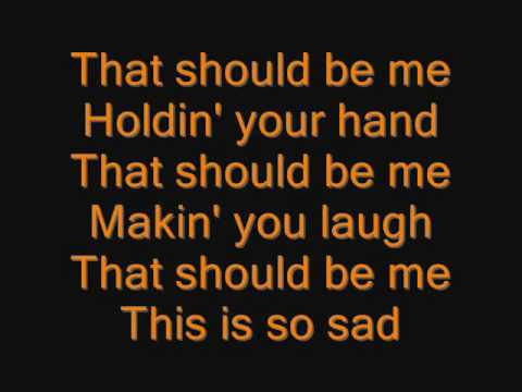 Justin Bieber - That Should Be Me Lyrics