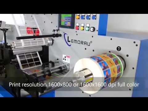 Lemorau DIGIEBR+ Digital printing, coating and finishing machine