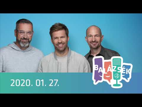 Rádió 1 Balázsék (2020.01.27.) - Hétfő
