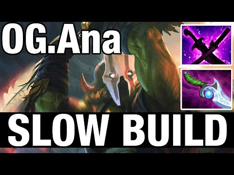 SLOW BUILD - OG.Ana Plays Juggernaut - Dota 2