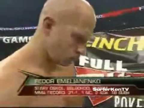 Федор Емельяненко VS Фабрисио Вердум Mix Fight M-1
