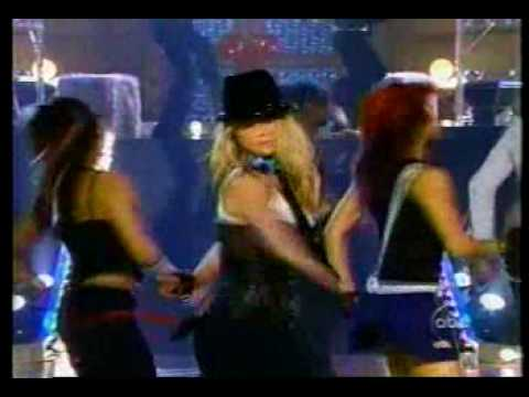 Britney Spears - Me Against The Music Live video