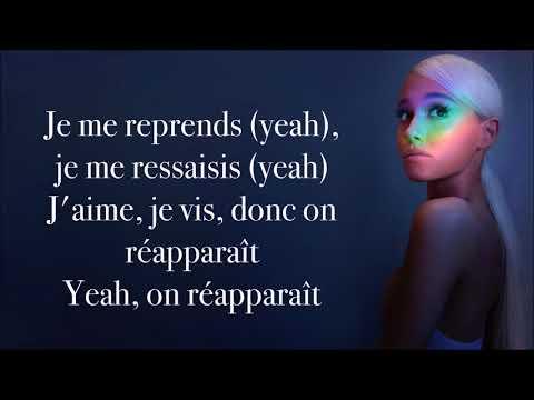 Ariana Grande ~ No Tears Left To Cry ~ Traduction Française