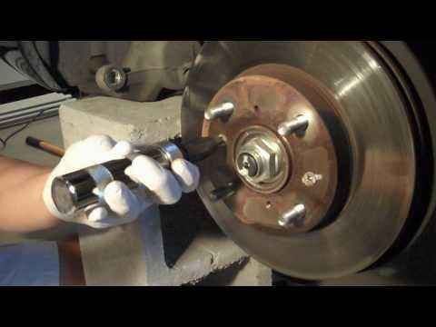 Tutorial: How to uninstall Honda brake rotor screws