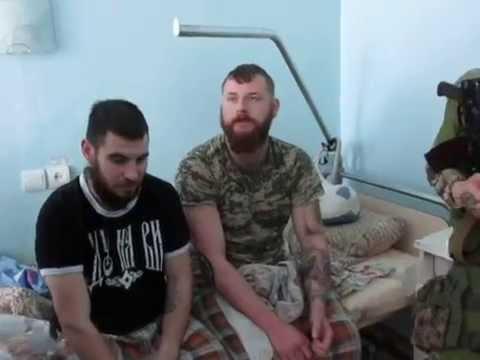 """""""Azovo"""" kariai Mariupolio ligoninėje."""