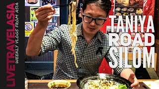 Japanese Foodie Experience in Silom Bangkok Thailand Taniya Street Izakaya