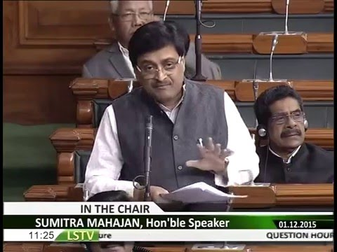 Question Hour in Lok Sabha speech on Sh. Ashok S. Chavan, Hon'ble M.P.