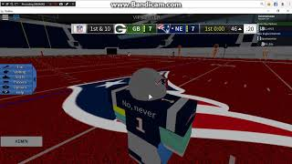 New england patriots vs green bay packers (Mr_erty vs Zach) pt1