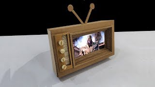 How To Make TV from Cardboard - DIY TV 2.0