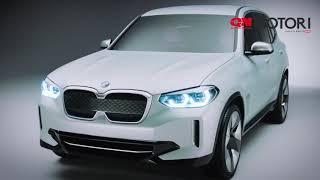 BMW iX3 concept, SUV elettrico: il video ufficiale