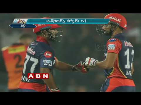 IPL Highlights, SunRisers Hyderabad Beat Delhi Daredevils By 9 Wickets | ABN Telugu