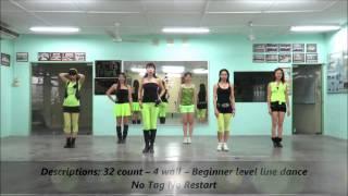 Morning Sha La La line dance(Demo & Walk Thru)26/9/14)